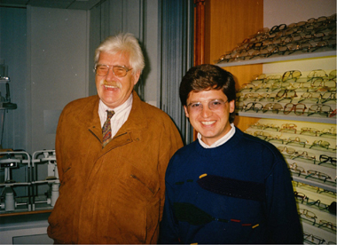 Dr. Kovalis with Horst Dohm